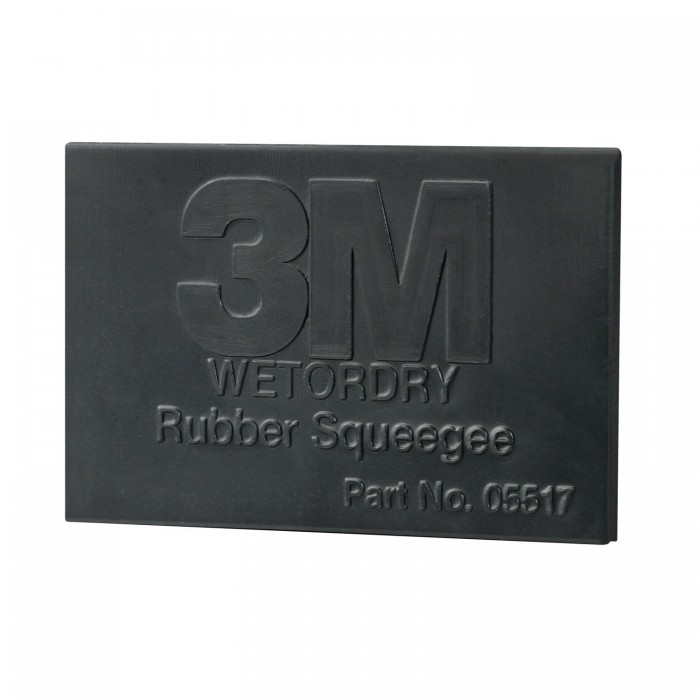 Гнучкий гумовий ракель 3M™ Wetordry™ 70*108мм