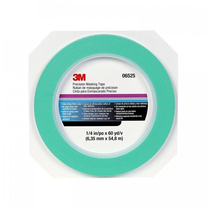 Маскуюча стрічка 3M™ для чітких границь 6мм*55м зелена