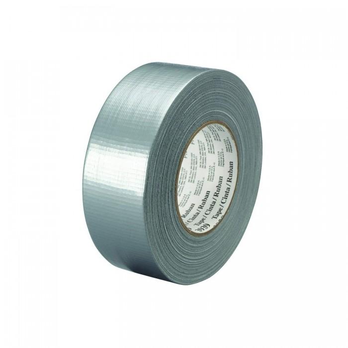 Одностороння армована захисна стрічка 3M™ 3939 48мм*55м*0.23мм срібляста