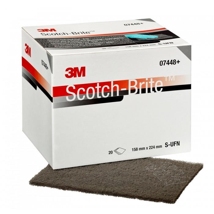 Абразивні листи 3M™ Scotch-Brite™ S-UFN сірий