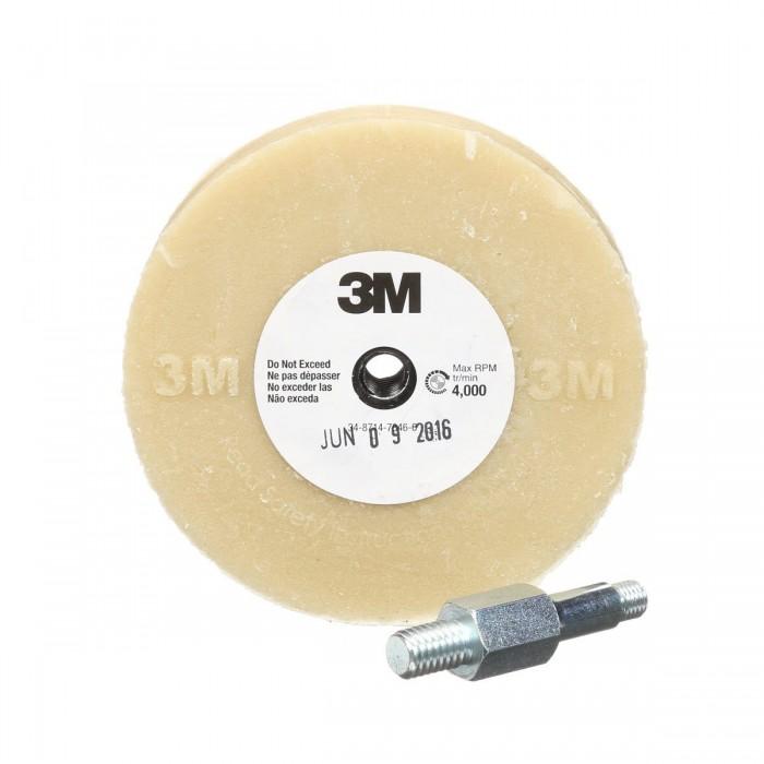 Диск 3M™ для зняття двосторонніх клейких стрічок ø100мм*16мм зі шпинделем