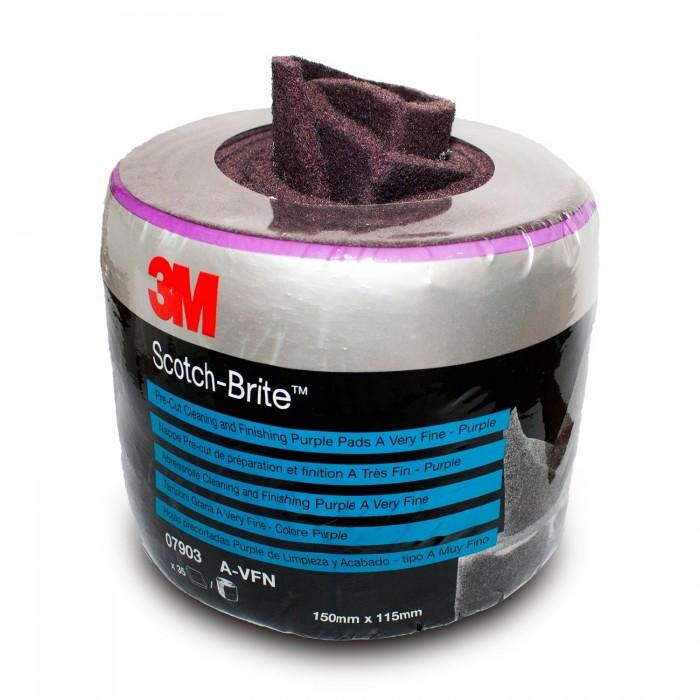 Абразивний рулон 3M™ Scotch-Brite™ CF-SR A-VFN червоний