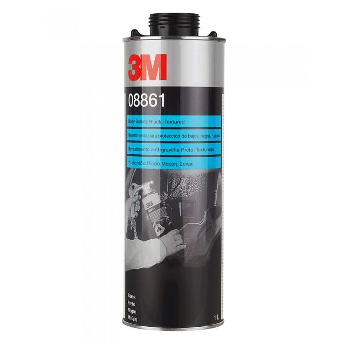 Антигравійне текстурне покриття 3M™ не фарбується чорне (1л)