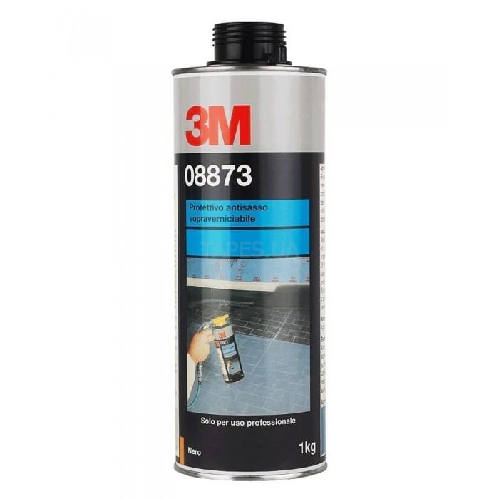Антигравійне текстуроване покриття 3M™ фарбується чорне (1л)