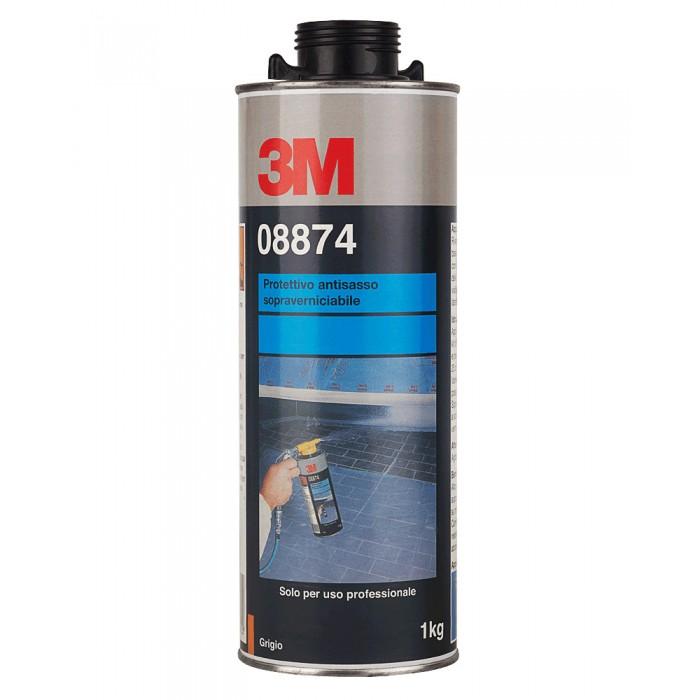 Антигравійне текстуроване покриття 3M™ фарбується сіре (1л)