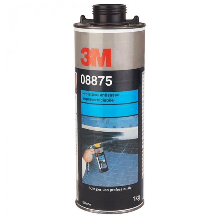 Антигравійне текстурне покриття 3M ™ фарбується біле (1л)