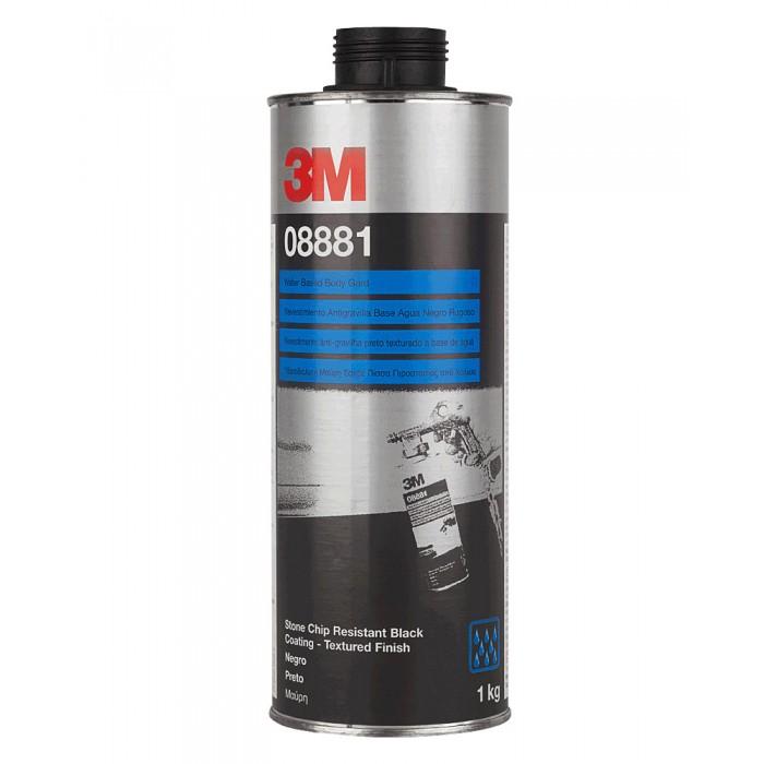 Антигравійне текстуроване покриття 3M™ на водній основі фарбується чорне (1кг)