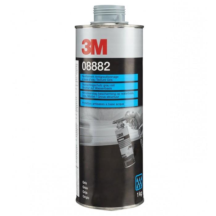 Антигравійне текстуроване покриття 3M™ на водній основі фарбується сіре (1кг)