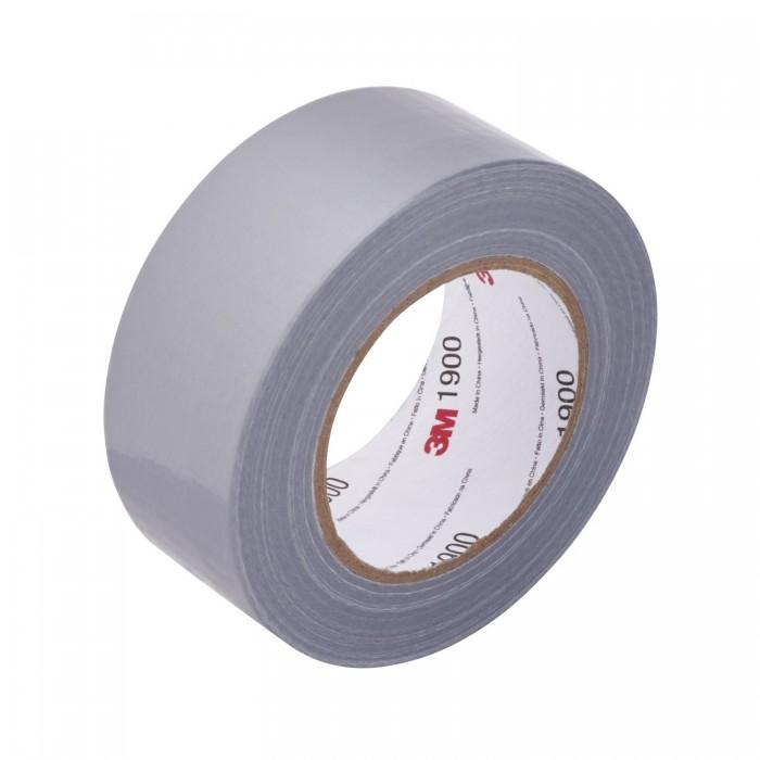 Одностороння армована ремонтна стрічка 3M™ 1900 50мм*50м*0.15мм срібляста