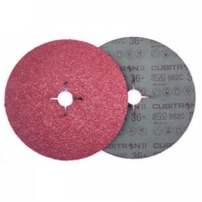 Фібровий круг 3M™ Cubitron™ II 982C ø180мм*22мм 36+