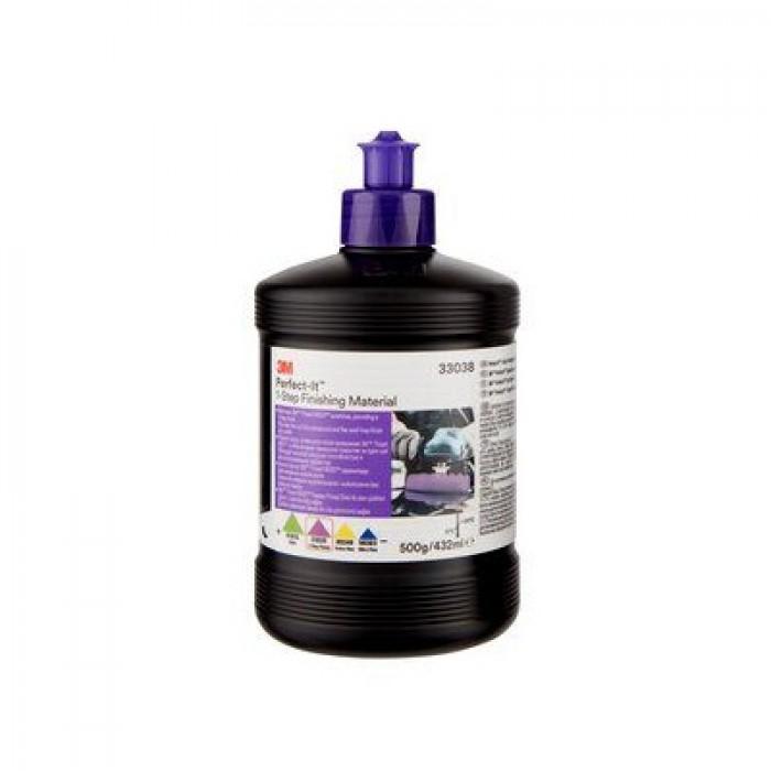 Однокрокова абразивна паста 3M™ Perfect-It™ 1-Step (500г/432мл)