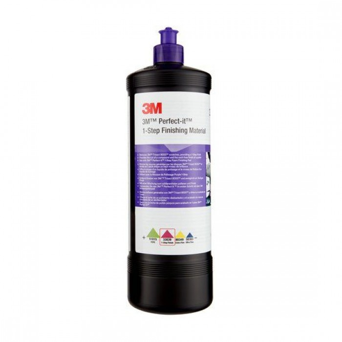 Однокрокова абразивна паста 3M™ Perfect-It™ 1-Step (1кг/946мл)