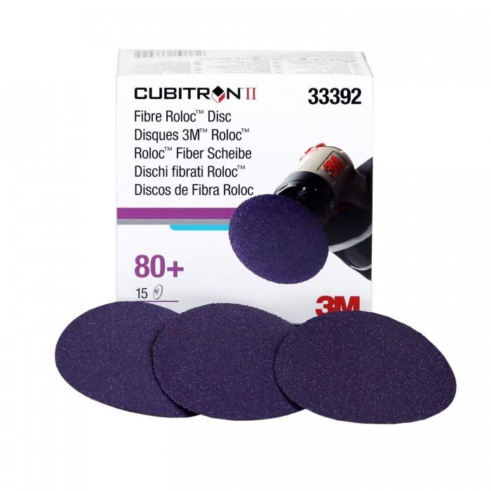Фібровий диск 3M™ 786C Cubitron™ II Ø75мм 80+ Roloc™