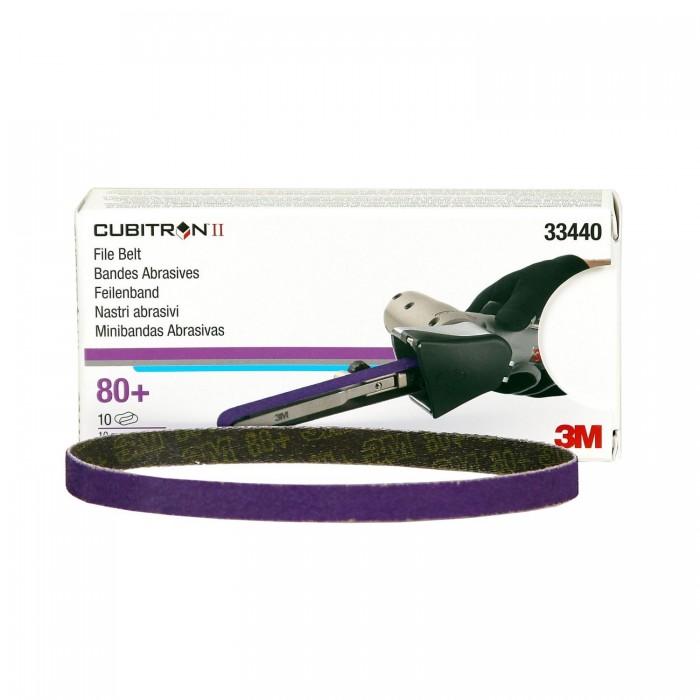 Шліфувальна стрічка 3M™ 786F Cubitron™ II 10*330мм 80+