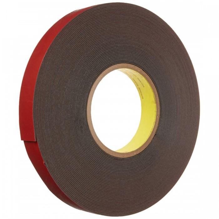 Двостороння клейка акрилова стрічка 3M™ PT1100 чорна 66м*9*1.1мм