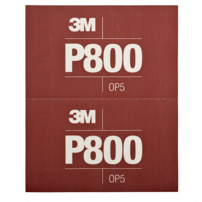Гнучкі абразивні листи 3M™ Hookit™ CROW 140*171мм P800