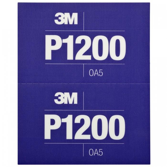 Гнучкі абразивні листи 3M™ Hookit™ CROW 140*171мм P1200