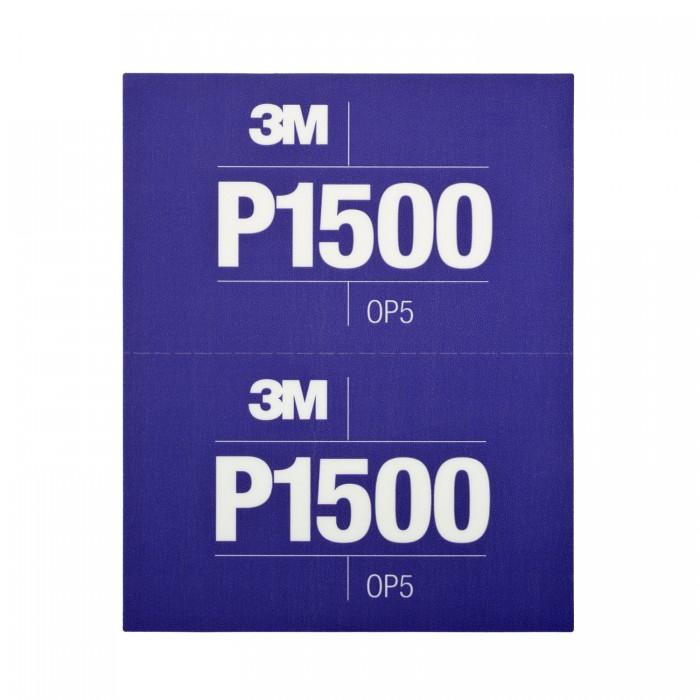 Гнучкі абразивні листи 3M™ Hookit™ CROW 140*171мм P1500