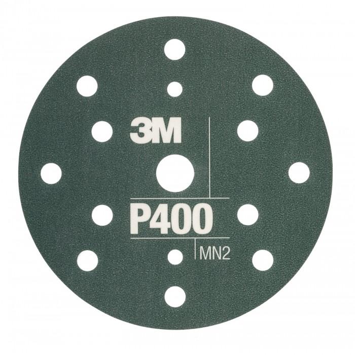 Гнучкі абразивні диски 3M™ Hookit™ CROW ø150мм P400