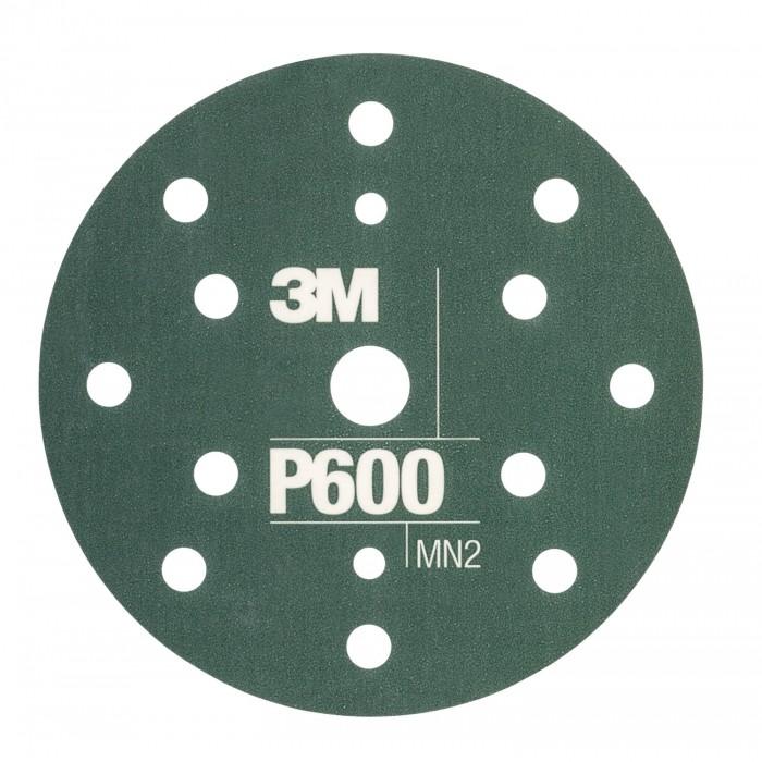 Гнучкі абразивні диски 3M™ Hookit™ CROW ø150мм P600