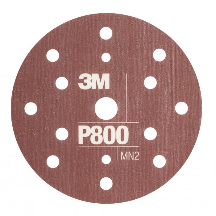 Гнучкі абразивні диски 3M™ Hookit™ CROW ø150мм P800