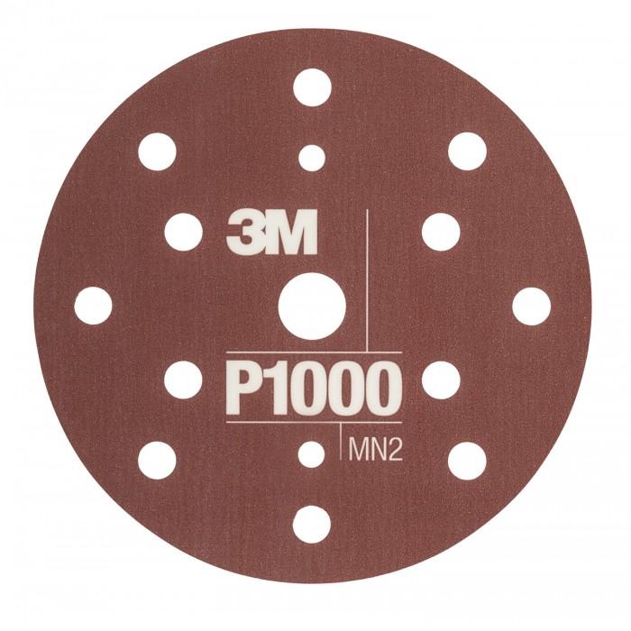 Гнучкі абразивні диски 3M™ Hookit™ CROW ø150мм P1000