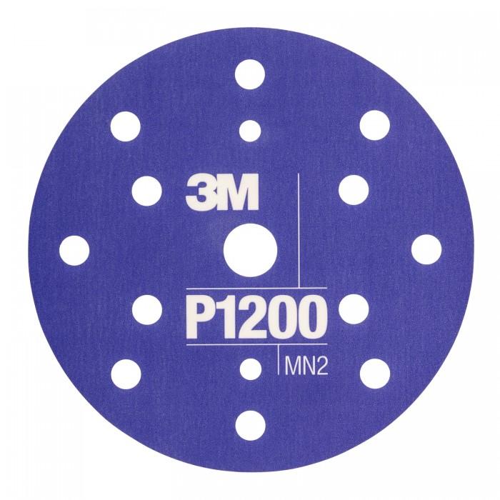 Гнучкі абразивні диски 3M™ Hookit™ CROW ø150мм P1200