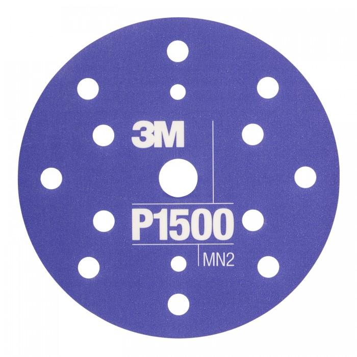 Гнучкі абразивні диски 3M™ Hookit™ CROW ø150мм P1500