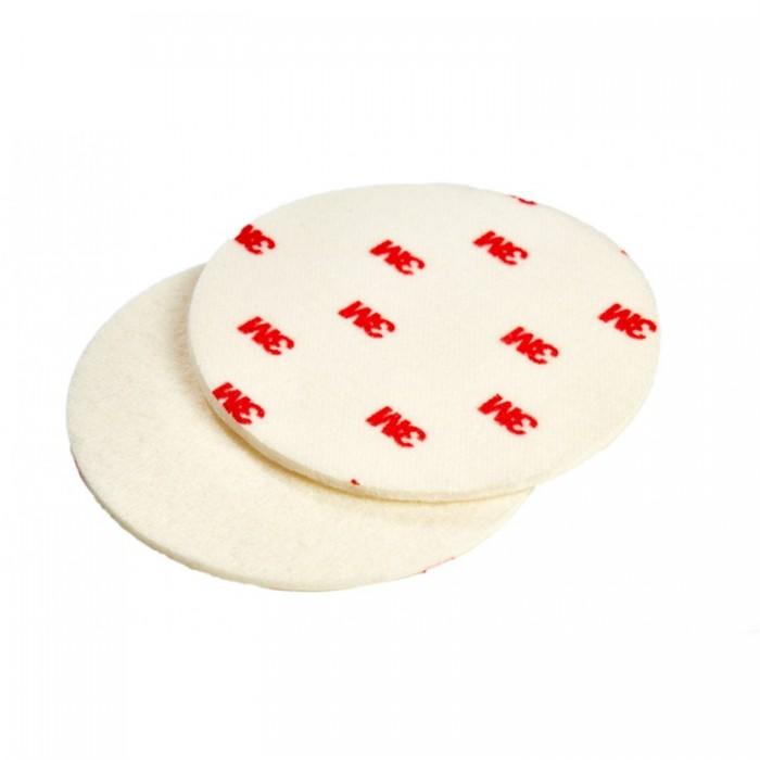 Фетровий полірувальний круг 3M™ Finesse-it™ ø125мм жорсткий білий/червоний