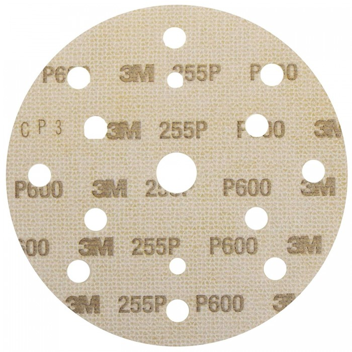 Абразивний диск 3M™ Hookit™ 255P+ Gold+ ø150мм P500