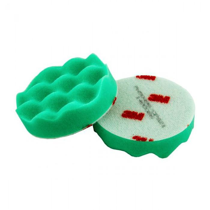 Поролоновий полірувальний круг 3M™ Perfect-It™ III ø75мм зелений