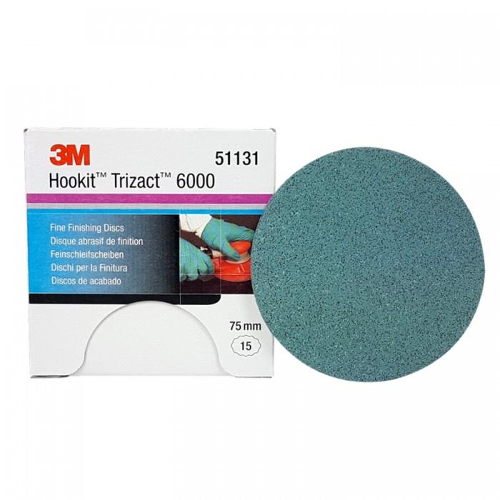 Абразивний диск 3M™ Hookit™ Trizact™ ø75мм P6000