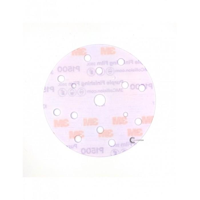 Абразивний диск 3M™ Hookit™ 260L Purple ø150мм P1200