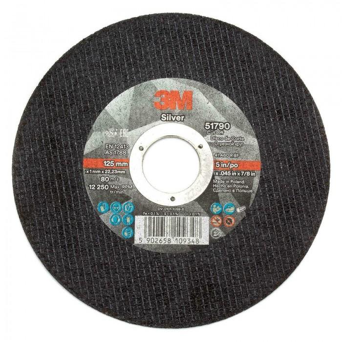 Відрізний круг 3M™ Silver T41 Inox ø125*1.0*22мм