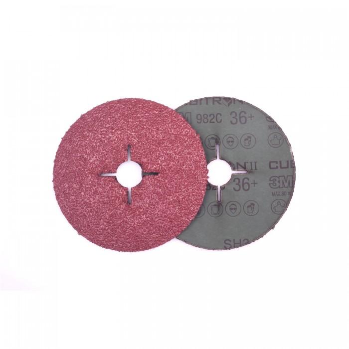 Фібровий круг 3M™ Cubitron™ II 982C ø125мм*22мм 36+
