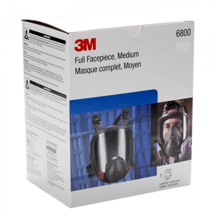 Повнолицева маска 3M™ серії 6000 розмір L