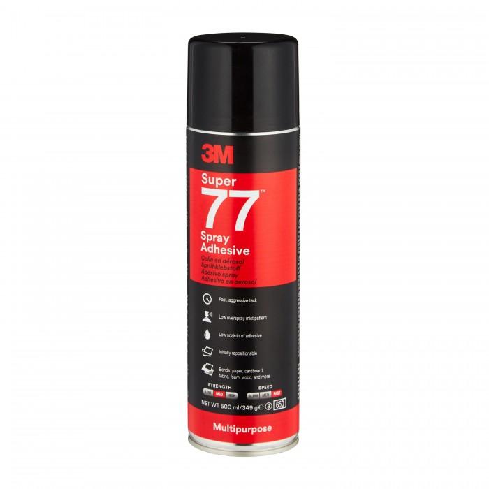 Клей-спрей в аерозолі 3M™ Scotch-Weld™ Spray 77 Super (500мл)