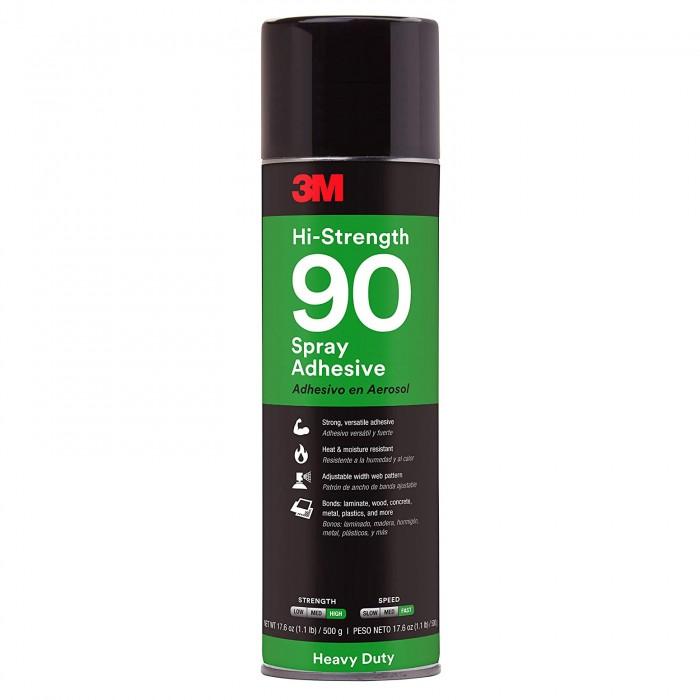 Клей-спрей в аерозолі 3M™ Scotch-Weld™ Spray 90 Hi-Strength (500мл)