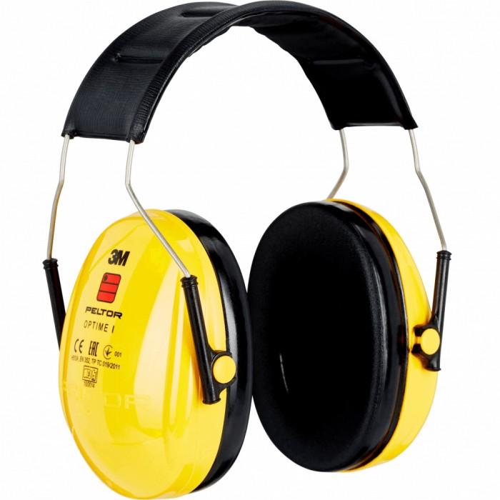 Протишумові навушники вертикальні 3M™ Peltor Optime 1 SNR 27дБ