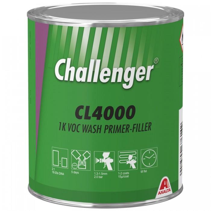 Кислотний грунт-наповнювач Challenger 1K VOC Wash Primer-Filler (1л)