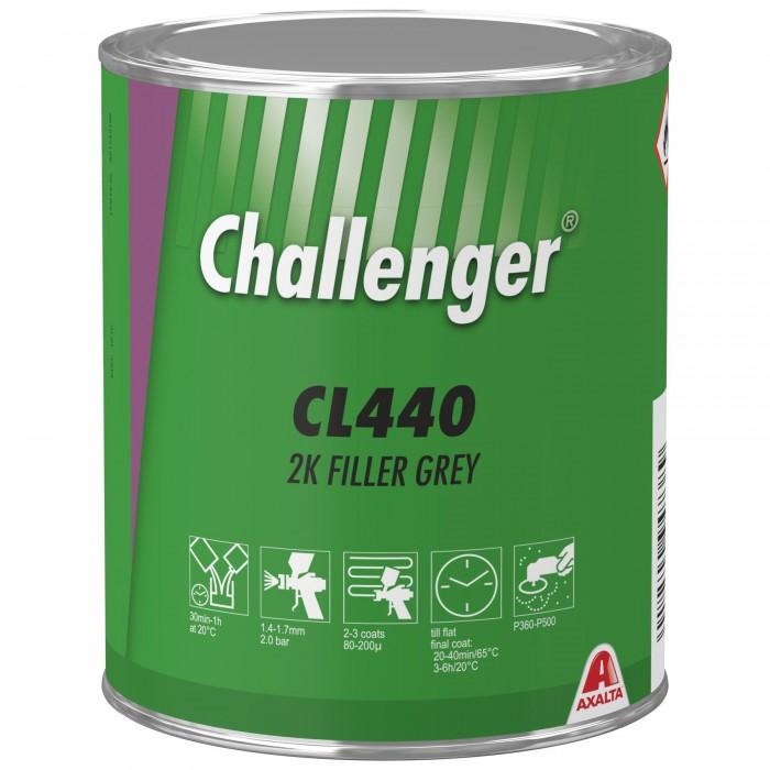 Грунт-наповнювач Challenger 2K Filler Grey (1л)