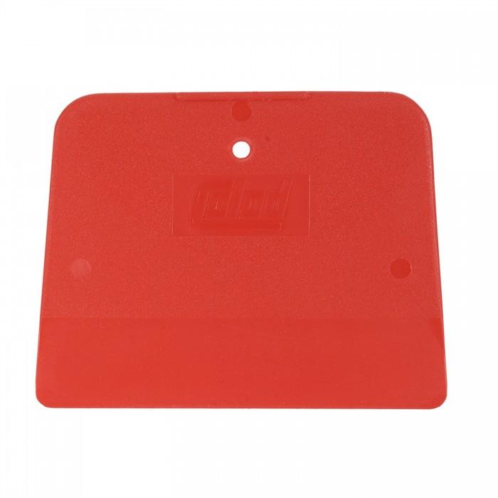 Пластиковий шпатель Colad 120*90мм червоний гнучкий