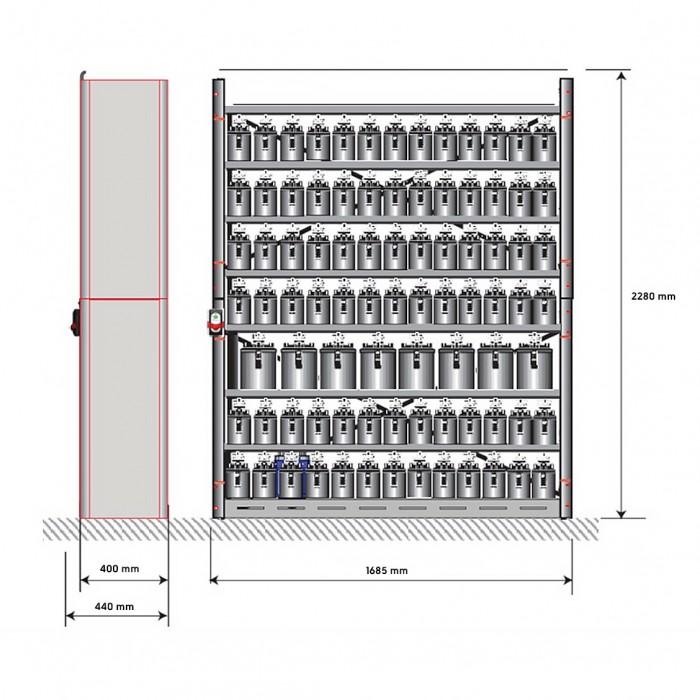 Фарбозмішувальна установка AlphaMix 160 (ATEX)