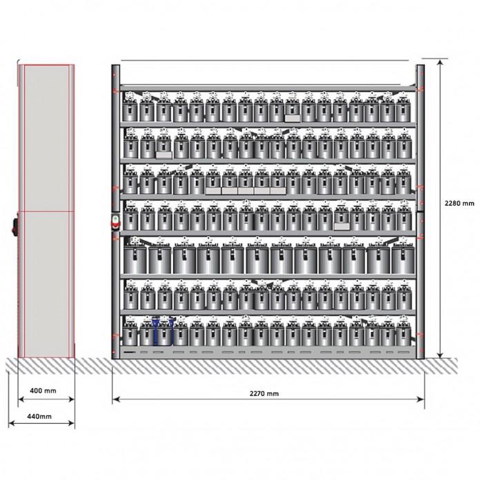 Фарбозмішувальна установка AlphaMix 220 (ATEX)