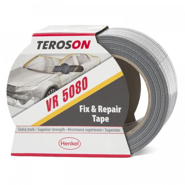 Одностороння армована захисна стрічка Teroson VR 5080 50мм*50м срібляста