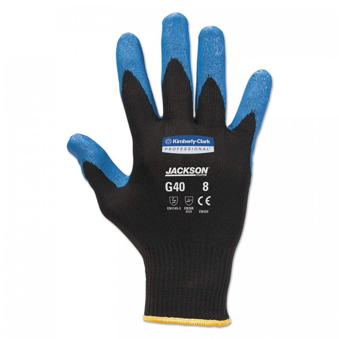 Рукавички Jackson Safety G40 Nitrile з нітриловим покриттям 9/L
