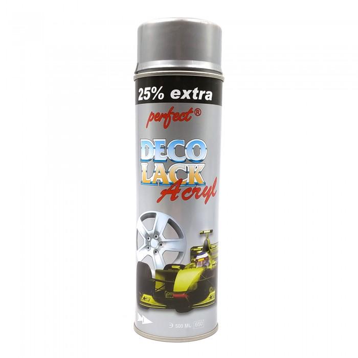 Фарба Perfect Deco Lack Acryl для дисків в аерозолі срібляста (500мл)