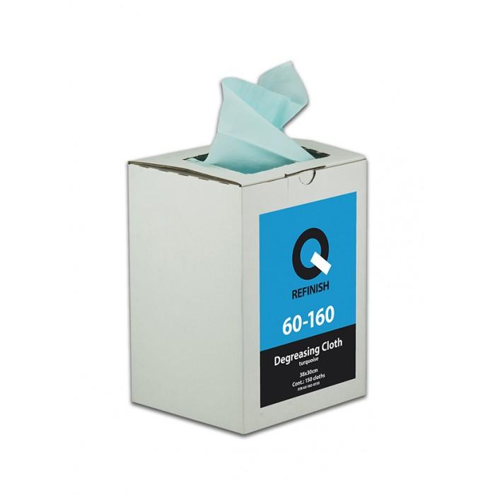 Серветки для знежирення Q-Refinish Degreasing Cloth 38*30см (150шт/кор)
