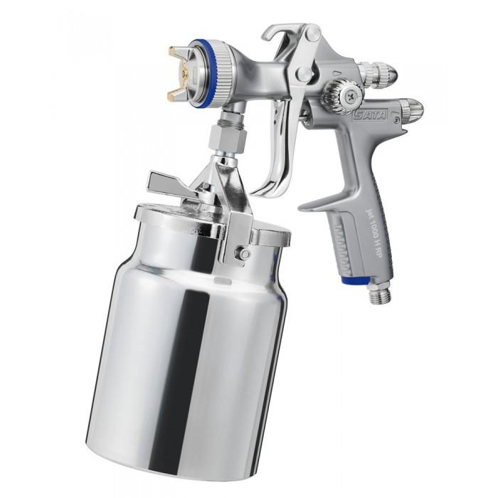 Краскопульт SATAjet 1000 H RP 1.6 без шарнірного зєднання і алюмінієвим підвісним бачком 1.0л