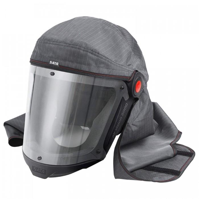 Повна маска SATA air vision 5000 з поясом і повітряним регулятором